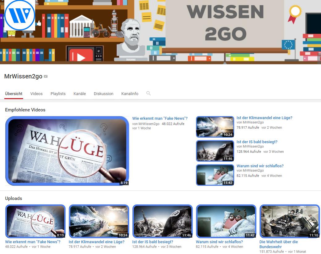 MrWissen2go YouTube Channel