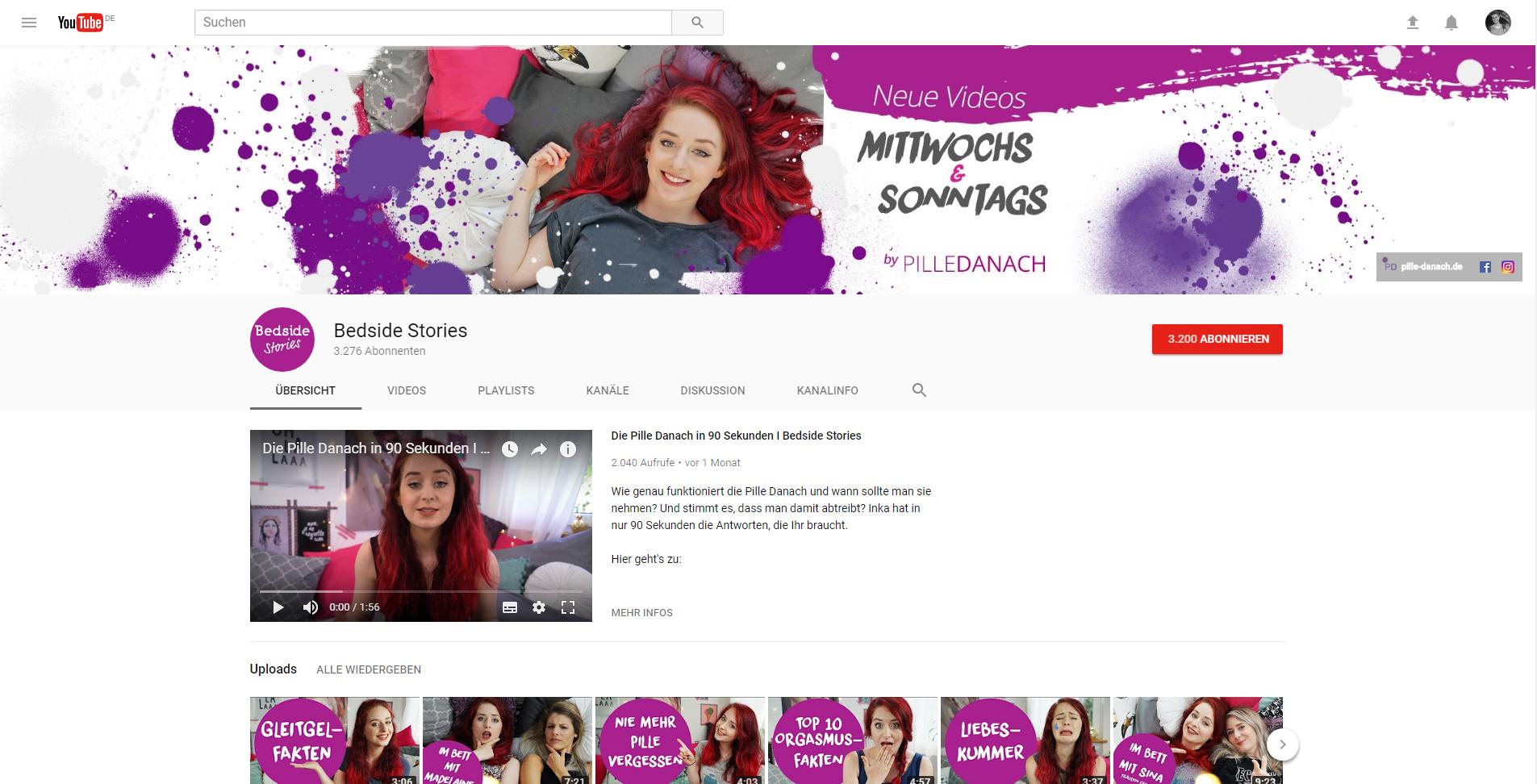 YouTube Kanal Design