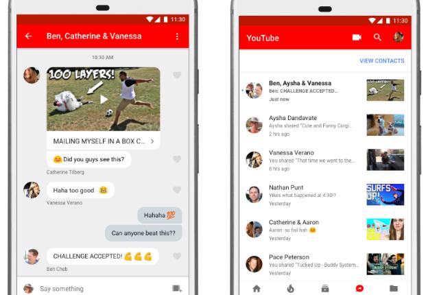 Gecheckt: YouTube's neue Teilen- und Messaging-Funktion ⭐️⭐️