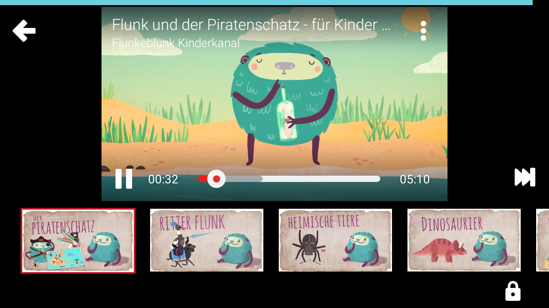 YouTube Kids App Serie