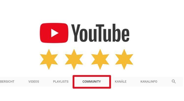 Gecheckt: So gut ist der neue Community-Tab bei YouTube ⭐⭐⭐⭐