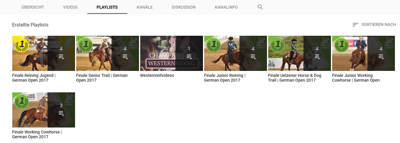 Das 1x1 im Videos Machen / Playlists