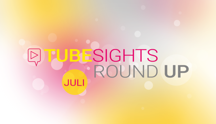 Clickable Hashtags und Gamescom – Tubesights Round Up: YouTube- und Influencer-Marketing-News (Juli 2018)